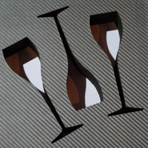 Mousse pour coffret de pr sentation de verres for Art de la table de luxe